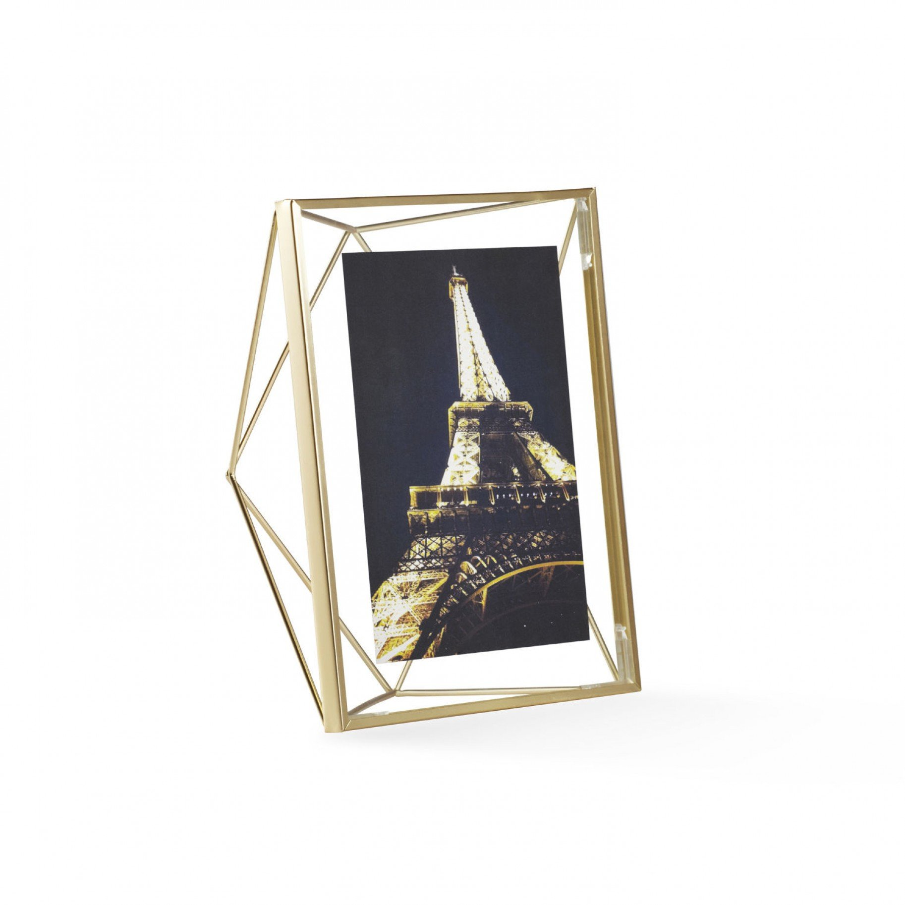 Prisma Frame Matte Brass - Umbra at Modern Intentions