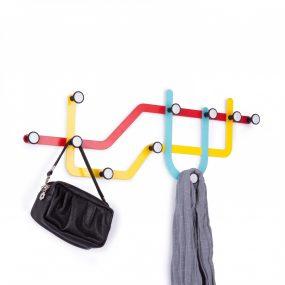 Subway Multi Hook Designed by Alan Wisniewski Umbra