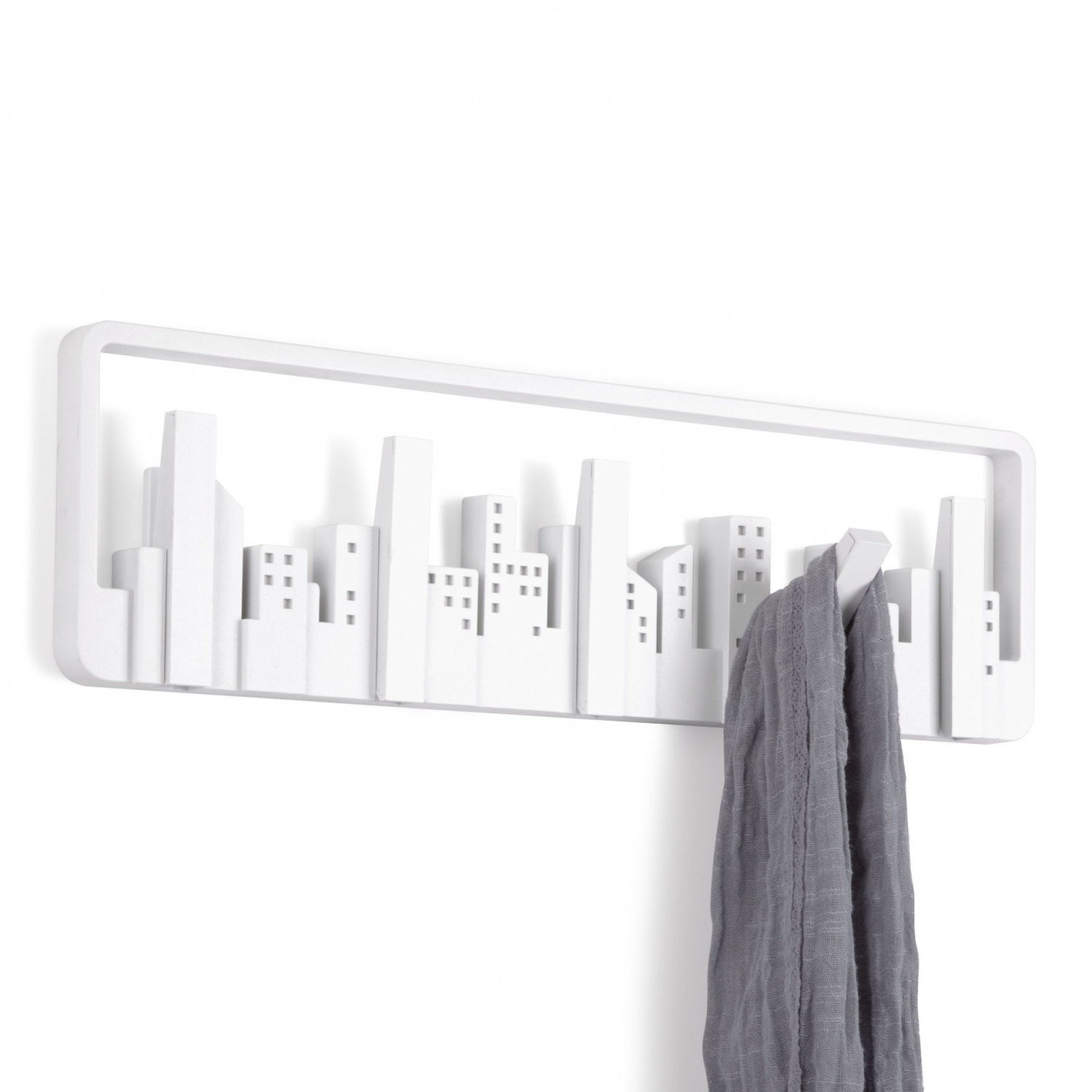 Com Umbra Hookaboo Bamboo And Metal Wall Multi Hook