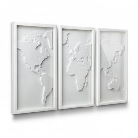 Mapster modern wall art Designed by Jordan Murphy Umbra