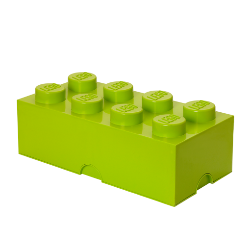 4004 LEGO Storage Brick 8_bright Yellowish Green Lime