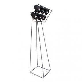 Multilamp Floor Lamp black Designed by Emanuele Magini Seletti