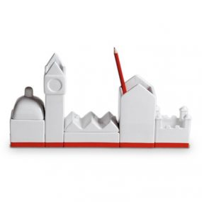 Seletti Desktructure The City desk organizer