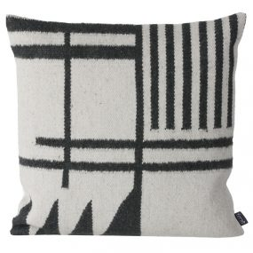 Kelim Black Lines Pillow