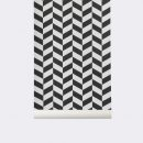 Angle Wallpaper black by ferm Living