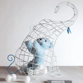 FANTASTICO DOMESTICO-Elephant Fruit Basket Designed by Valentina Carretta , FABRICA | Seletti