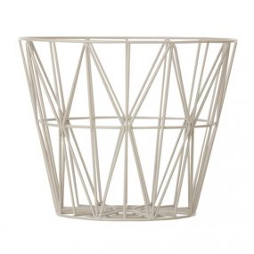 wire basket grey ferm living
