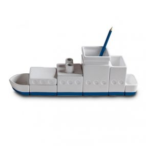 Seletti Desktructure The Ship modern desk organizer