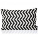 Black Zig Zag Cushion by ferm Living