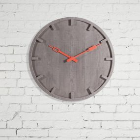 Seletti Memento modern cement clock on wall