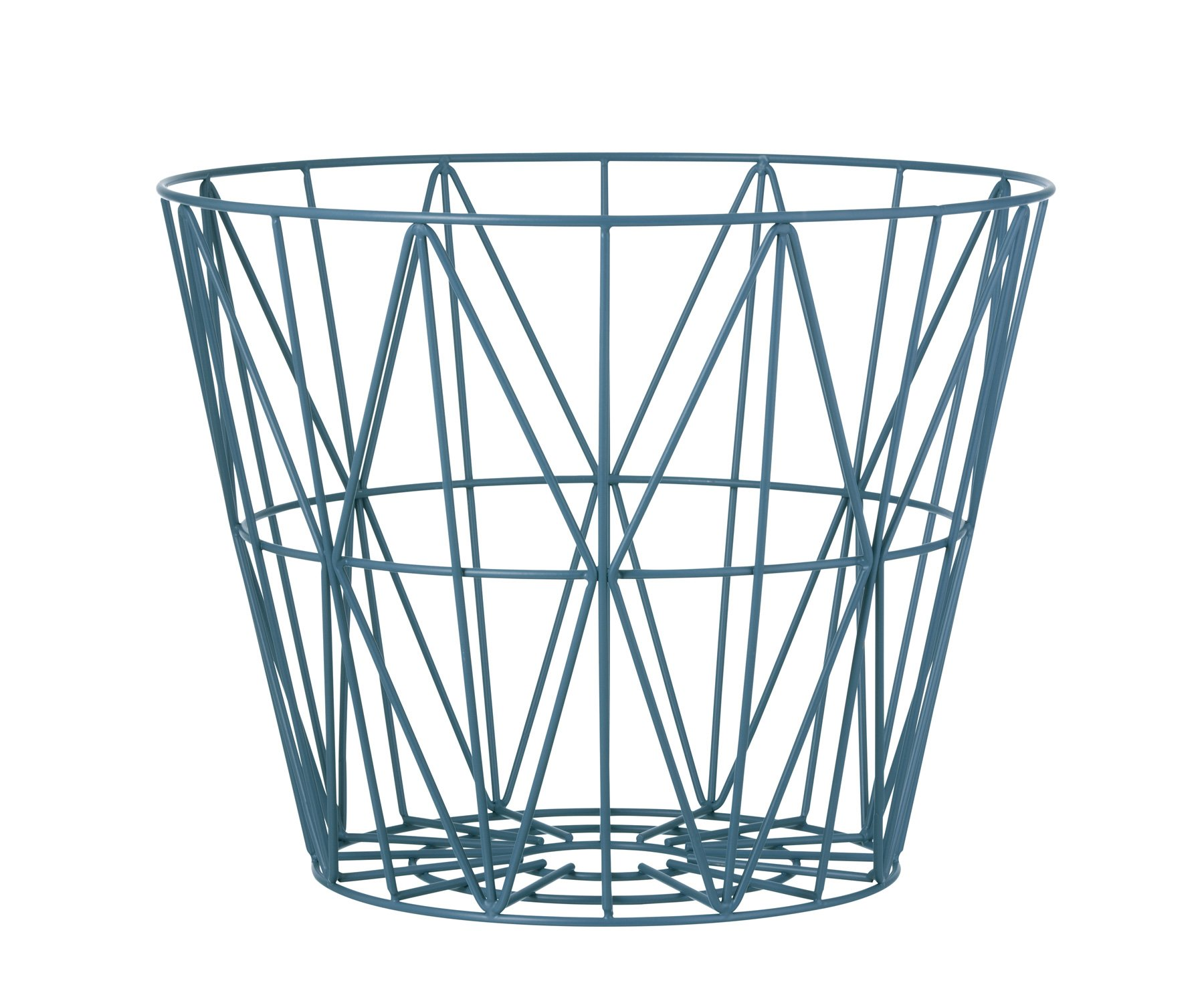 Wire Basket Petrol Ferm Living At Modern Intentions