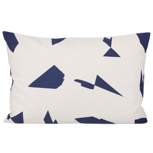 ferm Living Cut Cushion off white
