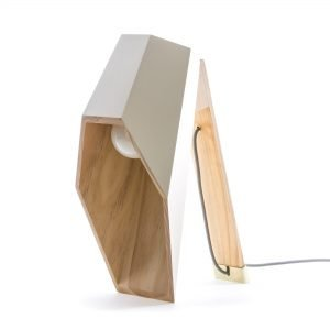 Woodspot Table Lamp Designed by Alessandro Zambelli  |  Seletti