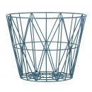 Wire Basket Petrol ferm Living