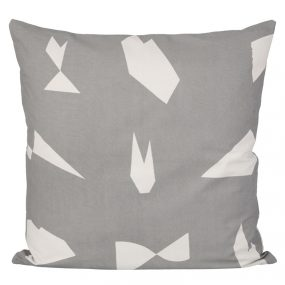 ferm Living Cut Cushion Grey