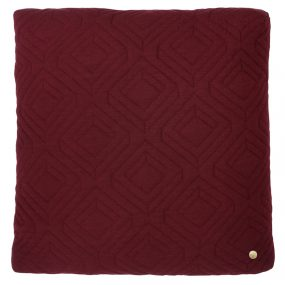 ferm Living Quilt Cushions Bordeaux