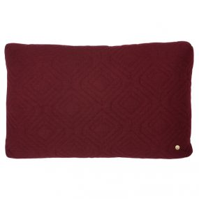 ferm Living Quilt Bordeaux Cushion