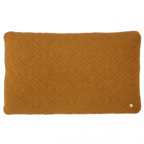 ferm Living Quilt Cushions curry