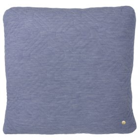 ferm Living Quilt Cushions light blue