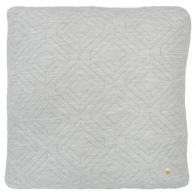 ferm Living Quilt Cushions light grey