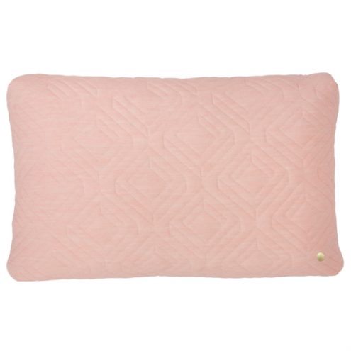 ferm Living Quilt Rose Cushion