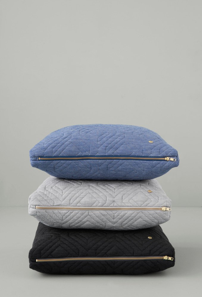 Merveilleux Quilt Cushions Stacked