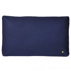 WOOL CUSHION DARK BLUE by ferm Living