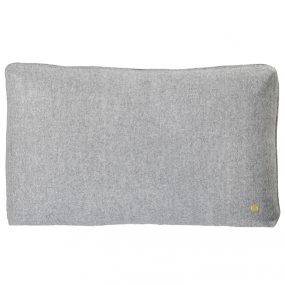 WOOL CUSHION LIGHT GREY by ferm Living