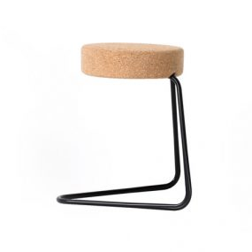 CC2 Cantilever Stool Cork Edition Designed by Joop Couwenberg Tecta
