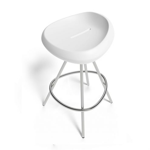 Beaser 65 Counter stool white Lonc