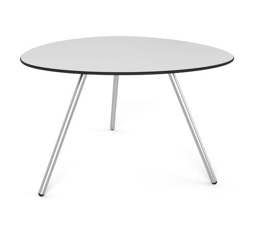 Big Dine a-Lowha Dining Table gray stainless steel Lonc