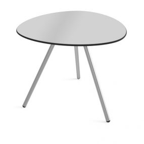 Dine a-Lowha Dining Table stainless steel gray Lonc