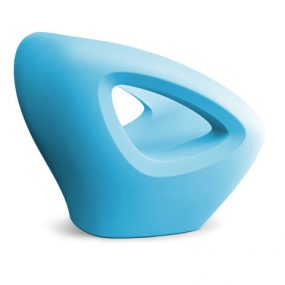 Seaser Lounge Chair baby blue Lonc