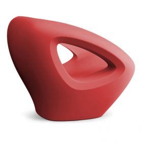 Seaser Lounge Chair red Lonc