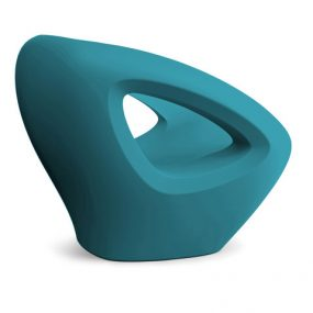 Seaser Lounge Chair petrol blue Lonc