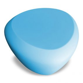 Teaser outdoor footstool / side table baby blue Lonc