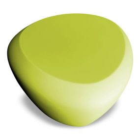 Teaser outdoor footstool / side table green Lonc