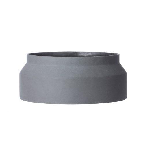 Concrete Pot Dark Grey Large Indoor / Outdoor