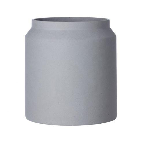 Concrete Pot Light Grey Large Indoor / Outdoor