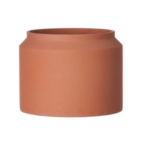 Concrete Pot Ochre Large Indoor / Outdoor