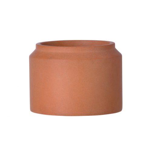 Concrete Pot Ochre Small Indoor / Outdoor