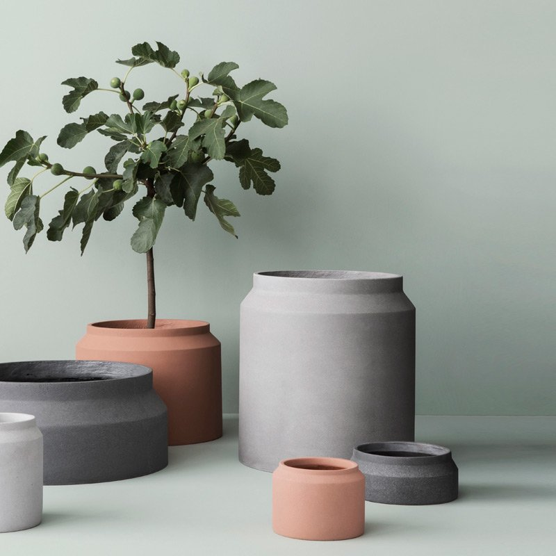 Concrete Pots By Ferm Living
