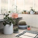 Indoor Outdoor Concrete Pots by ferm Living