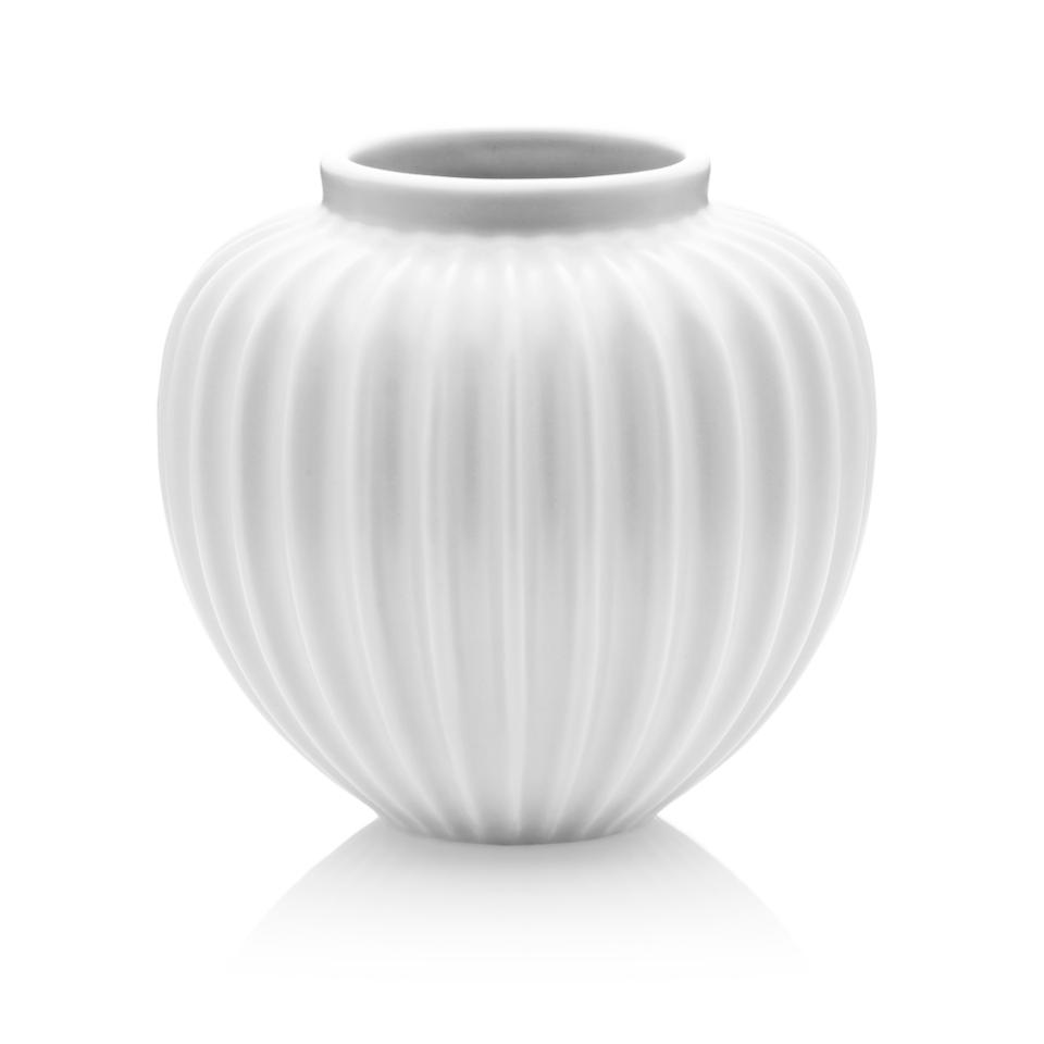 schollert white vase  modern intentions  shop home accents - schollert white vase large lucie kaas