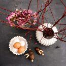 Skjøde Rabit Schollert White Vase and Ornate Candy Dish Lucie Kaas
