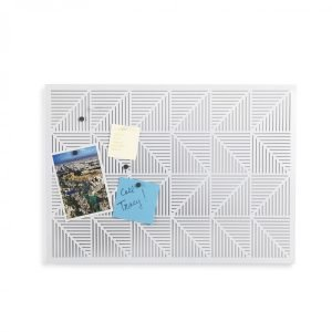 Umbra Trigon Bulletin Board White