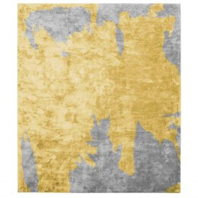 Action Caccia Rug in Yellow by Second Studio