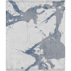 Eastern Side Of Nanjing Rug in Blue