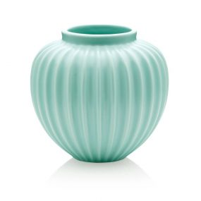 Schollert Mint Green Vase Medium Lucie Kaas