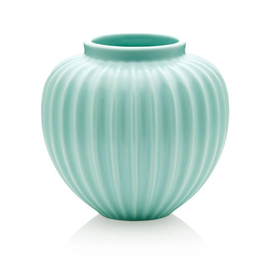Schollert mint green vase modern intentions shop home accents schollert mint green vase medium lucie kaas reviewsmspy